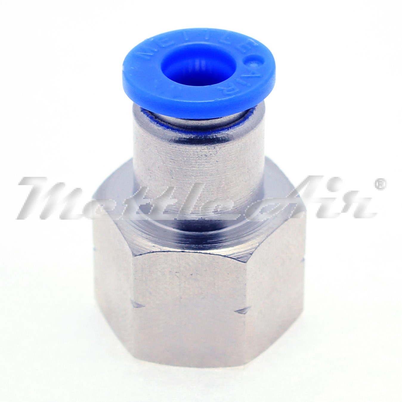 Push to Connect Straight Female Fitting 5//32 OD 1//8 NPT