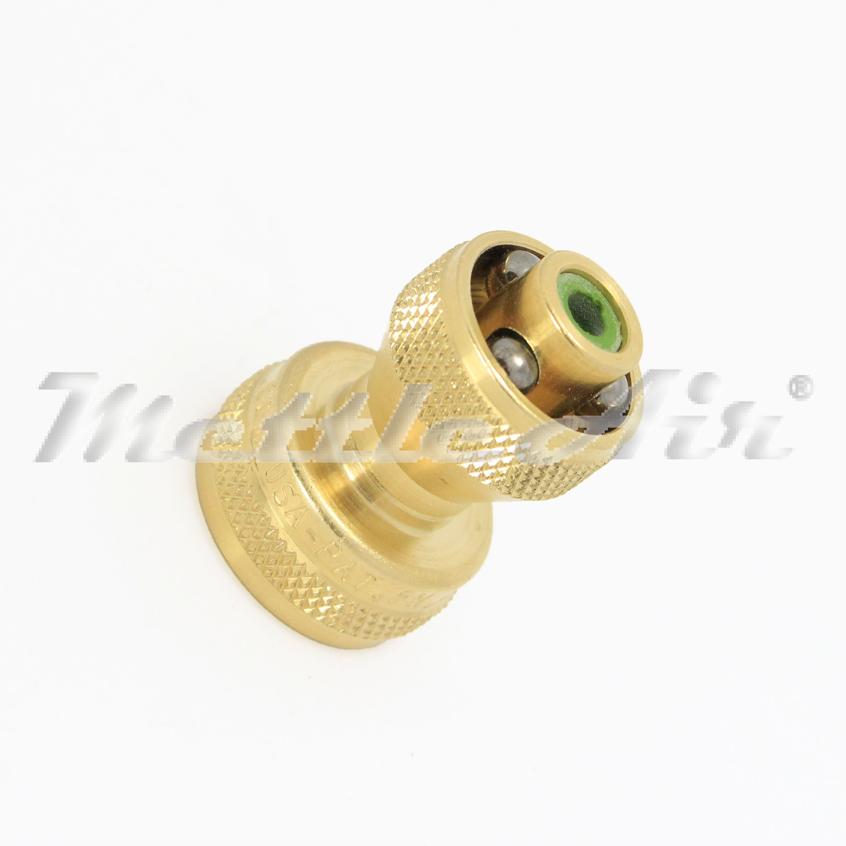 Bullseye Power Brass Twist Hose Nozzle 3 4 Ght Female With Adjustable Stream Shut Off Made In Usa Home Garden Marine Other