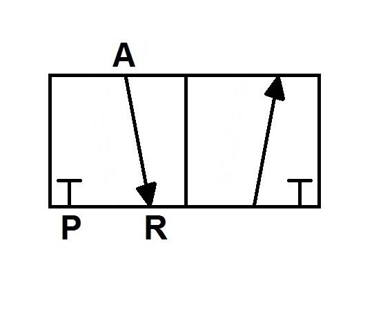 Way  4 Way 2 Position Valve Diagram