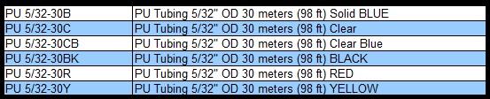 "1pc Polyurethane Tubing 3//16/"" OD YELLOW 30 m 98 ft MettleAir PU3//16-30Y"